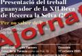 S'ajorna la presentació de la Beca de Recerca La Selva 2019
