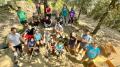 El castell de Montsoriu acull el 29è Camp de Treball d'Arqueologia amb joves provinents d'arreu del món