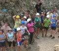 Una vintena de joves d'arreu del món participen en el camp de treball del castell de Montsoriu