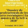 El Consell Comarcal de la Selva obre el període d'inscripcions per formar part del Dossier de professionals de les arts escèniques i la música de la Selva 2020