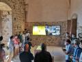 El Consell Comarcal de la Selva presenta el Centre d'Interpretació del vescomtat de Cabrera al castell de Montsoriu i el portal web La Ruta dels Cabrera