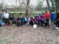 Alumnes de 1r d'ESO de Cassà de la Selva visiten el Centre d'Acollida d'Animals de la Selva