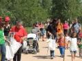 Una vintena de voluntaris participen a l'European Clean Up Day amb una neteja popular de l'entorn de l'estany de Sils