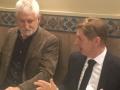 El president del Consell Comarcal de la Selva, Salvador Balliu, i el vicepresident, Martí Nogué, fan un balanç molt positiu de l'any 2017