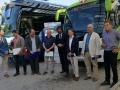Entra en funcionament l'exprés.cat, un nou bus que uneix directament Santa Coloma de Farners amb Girona