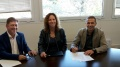 El Consell Comarcal de la Selva i Aqualia signen un conveni per garantir l'accés a l'aigua de les famílies sense recursos d'Anglès