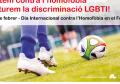 El Consell Comarcal de la Selva s'adhereix al Dia Internacional de la Lluita contra l'Homofòbia a l'esport