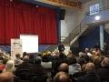 Més d'un centenar de persones assisteixen a la presentació del nou servei de recollida porta porta d'Osor